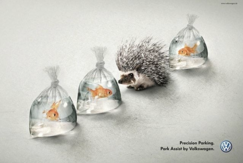 creative graphic design ad