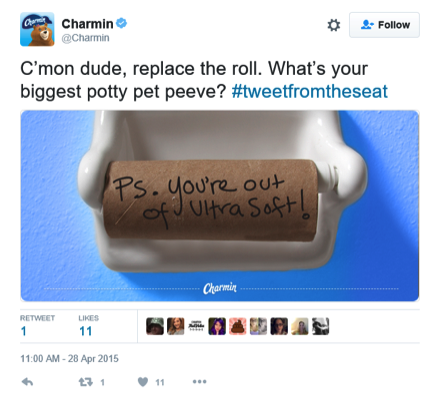 content marketing social media example