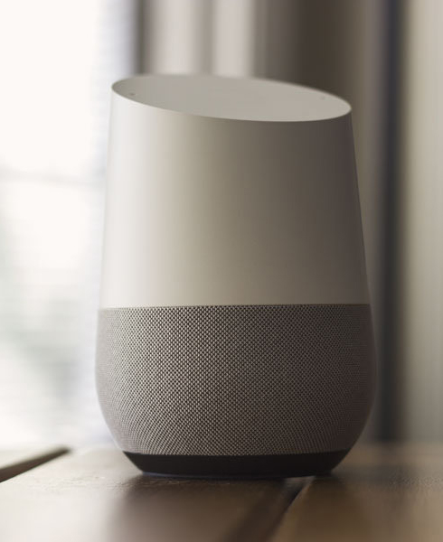 voice search results on google home device