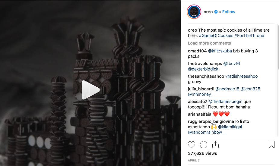 content marketing instagram video example best idea