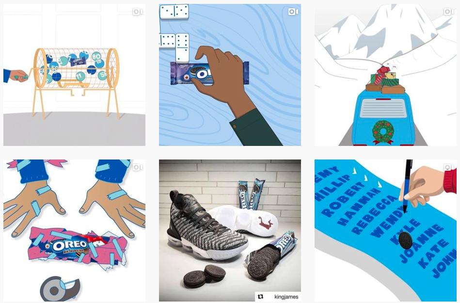 instagram content marketing example